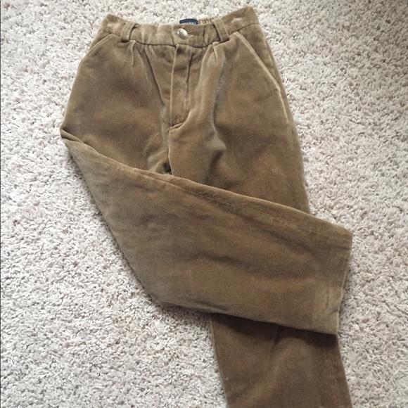 814cb780cb3f Boys Burberry Brown Pants 4